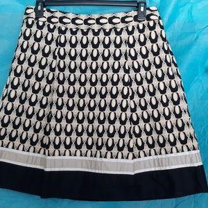 Ann Taylor Patterned Skirt